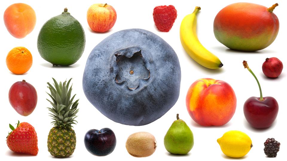 スパイスとフルーツ
