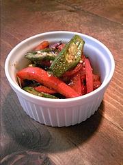 【レシピ】お弁当にもぴったり☆夏野菜のガラムマサラ炒め